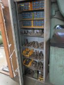 Unipunch Tooling w/ Cabinet (SOLD AS-IS - NO WARRANTY)