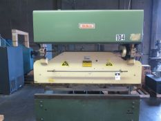 DiAcro 14-72 14GA x 6' Hydra-Power Press Brake s/n 6600981732 w/ Manual Back Gauging, SOLD AS IS