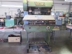 """Verson 16-48 15 Ton x 48"""" Press Brake s/n 24032-1648 w/ 48"""" Bed Length, 7 ½"""" Throat, SOLD AS IS"""