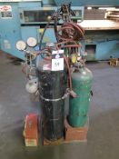 Welding Torch Cart w/ Tanks and Acces (SOLD AS-IS - NO WARRANTY)