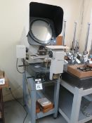 """Mitutoyo PH-350 13"""" Optical Comparator s/n 025 w/ Digital Micrometer Head Readout, SOLD AS IS"""