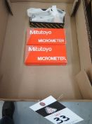 """Mitutoyo and Brown & Sharpe 0-1"""" OD Mics (3 - NEW) (SOLD AS-IS - NO WARRANTY)"""