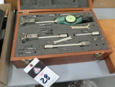 """Federal 1""""-6 1/8"""" Dial Bore Gage Set (SOLD AS-IS - NO WARRANTY)"""