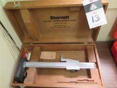 "Starrett 14"" Vernier Height Gage (SOLD AS-IS - NO WARRANTY)"