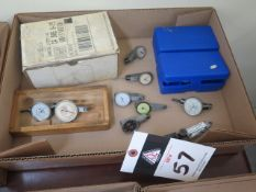 Misc Dial Test Indicators (SOLD AS-IS - NO WARRANTY)