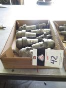 QH Quick Change Taper Tooling (9) (SOLD AS-IS - NO WARRANTY)
