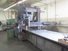 Powell Hydraulic Bridge Mill w/ QH Quick Change Taper Spindle, True-Trace Tracer Attach, SOLD AS IS