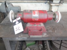 Milwaukee Bench Grinder (SOLD AS-IS - NO WARRANTY)