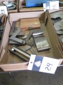 Planer Gage, Sine Bars and Squares (SOLD AS-IS - NO WARRANTY)