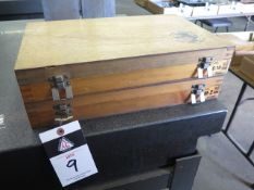 """Meyer Pin Gage Sets .011""""-.250"""", .251""""-.500"""" (SOLD AS-IS - NO WARRANTY)"""