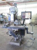 Supermax 3-Axis CNC Vertical Mill s/n 87-11975 (NEEDS REPAIR) w/ Anilam Crusader II, SOLD AS IS