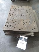 """13 1/2"""" x 19 1/2"""" Adjustable Angle Plate (SOLD AS-IS - NO WARRANTY)"""