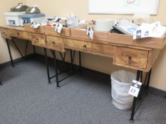 Souder Modern Office Furniture (5) Desks (SOLD AS-IS - NO WARRANTY)