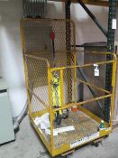 Forklift Safety Cage (SOLD AS-IS - NO WARRANTY)