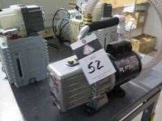 JB Platinum DV-200N Vacuum Pump (SOLD AS-IS - NO WARRANTY)