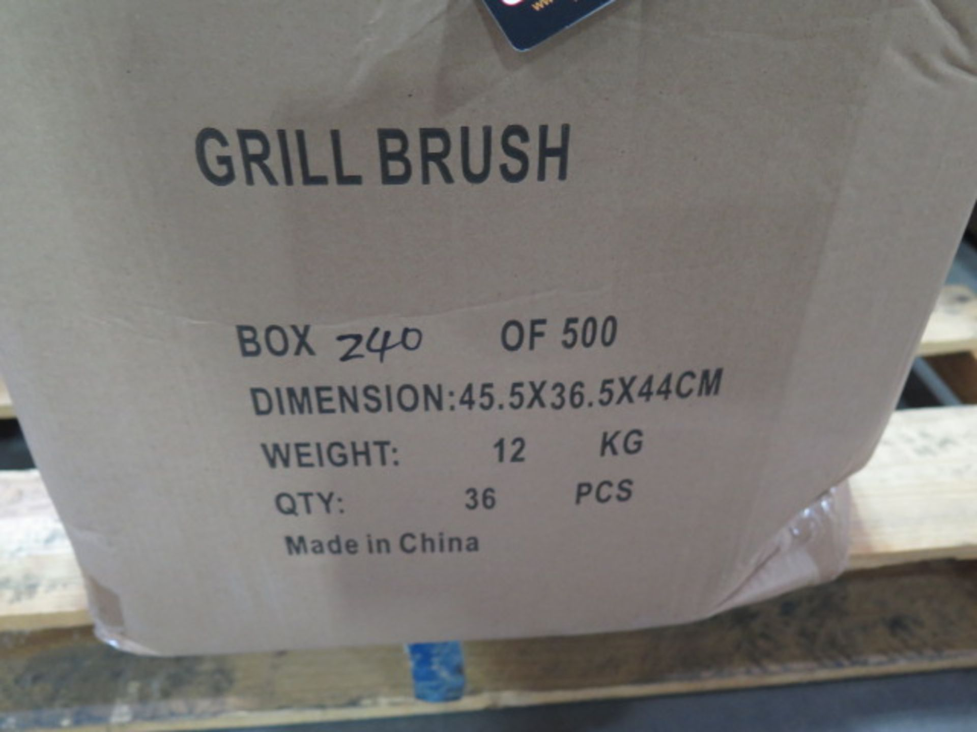 BBQ Grill Brushes (NEW INVENTORY) (Approx 180) (SOLD AS-IS - NO WARRANTY) - Image 5 of 5
