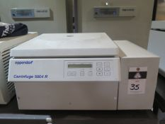 Eppendorf 5804R Centrifuge (SOLD AS-IS - NO WARRANTY)