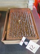 """Pin Gage Sets (2) .061""""0,250"""" and .251""""-.500"""" (SOLD AS-IS - NO WARRANTY)"""