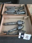 Drill Chucks and Taper Adaptors (2-Boxes) (SOLD AS-IS - NO WARRANTY)