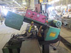 """DoAll C-5A 10"""" Automatic Hydraulic Horizontal Band Saw s/n 314-85890 w/ DoAll Controls, Hydraulic"""