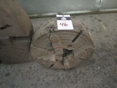 """16"""" 4-Jaw Chuck (SOLD AS-IS - NO WARRANTY)"""