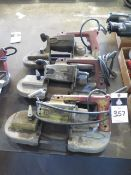 Milwaukee Portable Band Saws (3) (SOLD AS-IS - NO WARRANTY)