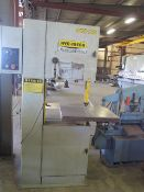 """Hyd-Mech VCS-20 20"""" Vertical Band Saw s/n VCS2003110055 w/ 30-5500 FPM, 26"""" x 26"""" Table (SOLD AS-"""