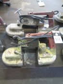 Milwaukee Portable Band Saws (2) (SOLD AS-IS - NO WARRANTY)