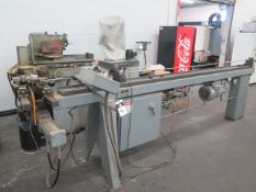 Conrac mdl. 210-R.H. Hydraulic Pipe and Tube Bender s/n 84642-171 w/ Conrac Controls (SOLD AS-IS -
