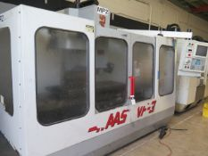 1995 Haas VF-3 4-Axid CNC VMC s/n 5039 w/ Haas Controls, 20-Station ATC, SOLD AS IS