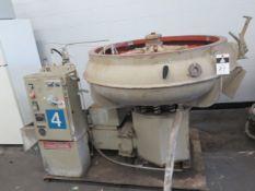 """Almco OR-10V 48"""" Media Tumbler w/ Controls, Compartment Separators, Media Pump (SOLD AS-IS - NO"""