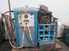 Miller 330 A/PB CC-AC/DC Arc Welding Power Source w/ Miller Radiator-1 Cooler, Cart (SOLD AS-IS - NO