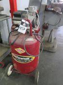 Coleman Powermate 6Hp Portable Air Compressor w/ 27 Gallon Tank (SOLD AS-IS - NO WARRANTY)