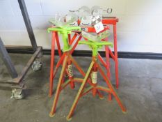 Ridgid Pipe Stands (4) (SOLD AS-IS - NO WARRANTY)