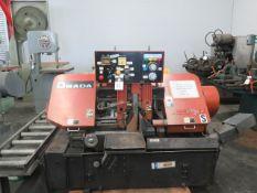 "Amada HA-250W 10"" Automatic Hydraulic Horizontal Band Saw s/n 25350889 SOLD AS IS"