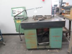"""Lapmaster mdl. 24 24"""" Lapping Machine w/ Media Dispenser (SOLD AS-IS - NO WARRANTY)"""