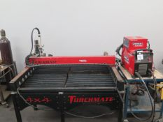 """Lincoln Torchmate 4' x 4' """"Growth Series"""" CNC Plasma Table (NEW – NO COMPUTER OR SOFTWARE)SOLD AS IS"""