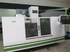 1991 Mighty Comet VMC-1000 CNC Vertical Machining Center s/n 940706 w/ Mitsubishi Control SOLD AS IS