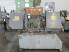 """Master Cut mdl. S-12A 12"""" Automatic Hydraulic Horizontal Band Saw w/ Hydraulic Clamping, SOLD AS IS"""