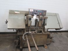 """Ramco 12"""" Automatic Horizontal Band Saw w/ Manual Clamping, Automatic Bar Feed w/ Stop, SOLD AS IS"""