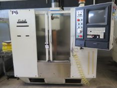 Fadal VMC20 4-Axis CNC Vertical Machining Center s/n 9204136 w/ Fadal CNC32MP Controls, SOLD AS IS