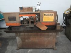 """H.E.M. 9"""" Automatic Horizontal Band Saw w/ Pneumatic Clamping and Feed, Coolant (SOLD AS-IS - NO"""