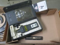 """6"""" Master Level and Shimpo Digital Tachometer (SOLD AS-IS - NO WARRANTY)"""