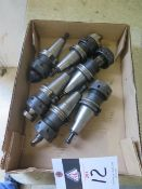 CAT-40 Taper Tooling (6) (SOLD AS-IS - NO WARRANTY)