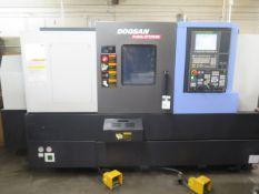 2015 Doosan PUMA GT2100B CNC Turning Center s/n ML0262-000180 w/ Fanuc i-Series Controls, SOLD AS IS