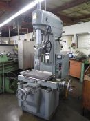 """Moore No. 3 Jig Boring Machine s/n B146 w/ 0-2500RPM, 12"""" Quill Travel, Power Feeds, SOLD AS IS"""