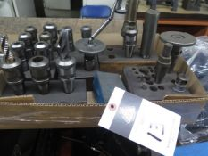 Moore Taper Tooling(SOLD AS-IS - NO WARRANTY)