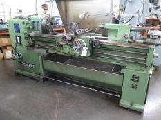 Cazeneuve HB500 Lathe s/n 15566T11 w/ 20-1600 RPM, Inch/mm Threading, Tailstock, SOLD AS IS