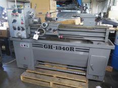 "1990 Jet GH-1340R 13"" x 40"" Gap Bed Lathe s/n D9007-223R w/ 70-2000 RPM, Inch/mm, SOLD AS IS"