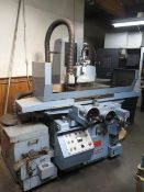 """Nicco Type NSG-6H 12"""" x 24"""" Automatic Hydraulic Surface Grinder s/n C3406 w/ 12"""" x 24"""", SOLD AS IS"""